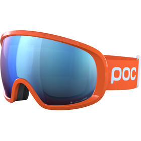 POC Fovea Clarity Comp Gogle, fluorescent orange/spektris blue